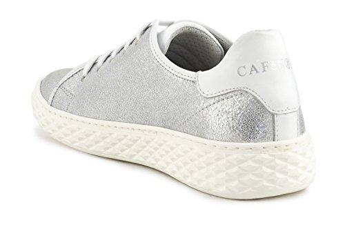 Capra In Argento Laminata Mdd201 Allacciata Sneakers Cafènoir 204 IZqT6Hxw