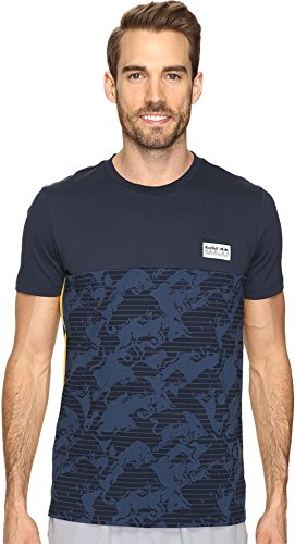 PUMA Men's RBR All Over Tee Total Eclipse T-Shirt