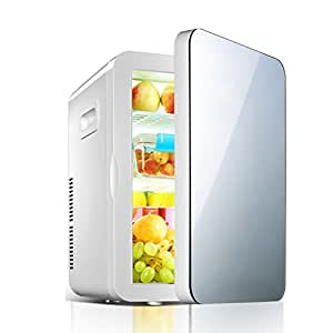 PIGE Mini refrigerador - refrigerador Compacto 20L sostiene 30 ...