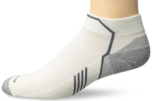 Sockwell Mens Incline Inspire Athletic Lo Quarter Socks  Natural  Medium Large