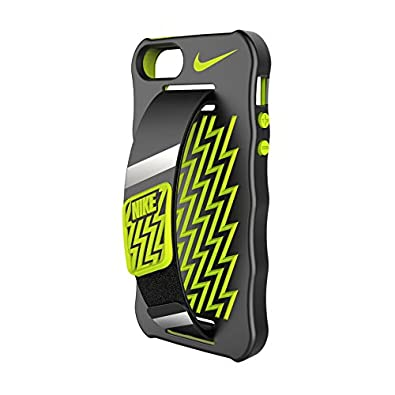 detailed look cc32b 73cee Nike Handheld Phone Case iPhone 5/5s Cellphone Case Black/Volt