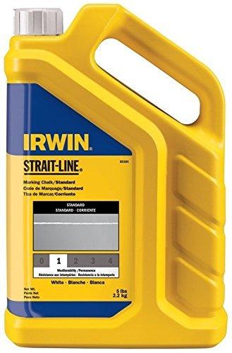 (Irwin Strait Line 65104 5 Lbs White Chalk Refills)