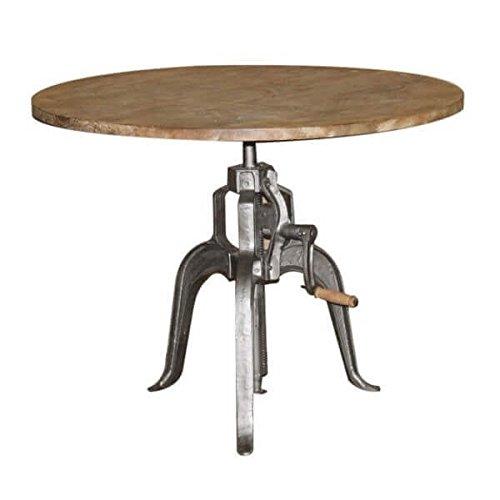 table rglable en hauteur manivelle - Table Reglable En Hauteur Avec Rallonge