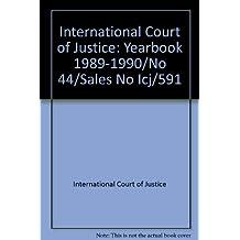 International Court of Justice: Yearbook 1989-1990/No 44/Sales No Icj/591
