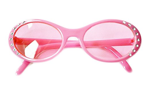 PINK SPARKLE SUN GLASSES FOR AMERICAN GIRL DOLLS AND BITTY TWINS