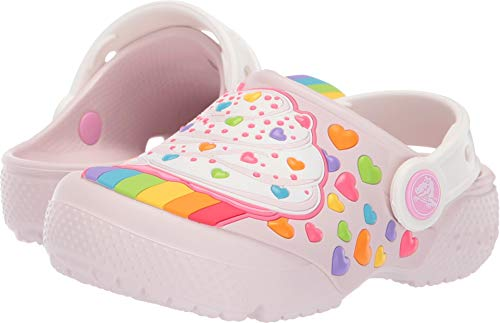 Crocs Kids' Fun Lab Cupcake Clog, Barely Pink, 9 M US Toddler (Clogs Crocs Kids)