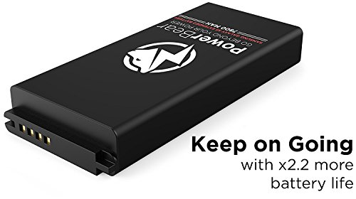 check out 9c1fd 52d4f PowerBear Samsung Galaxy S5 Extended Battery [7800mAh] & Back ...