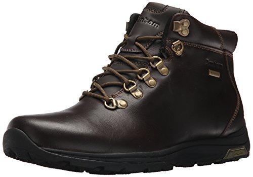 Dunham Men's Trukka Waterproof Alpine Winter Boot, Brown, 10 D US (Alpine Leather Boot)