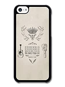 Mumford & Sons In These Bodies We Will Live Illustration case for iPhone 5C