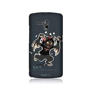 Bat Toon Skits Design Hard Back Case Cover For Sony Xperia neo L MT25i
