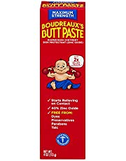 Boudreauxs Maximum Strength Butt Paste - 4 Oz (Pack of 3)(Packaging may vary)