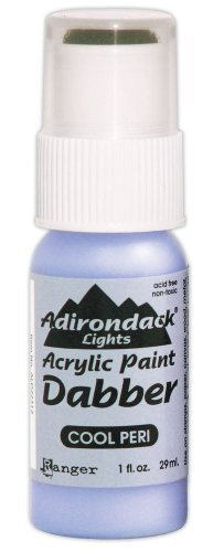 Ranger ALD-22312 Adirondack Acrylic Paint Dabber, 1-Ounce, Light Cool Peri by Ranger