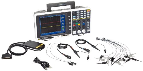 (Owon MSO8202T Series MSO Mixed Signal Oscilloscope with 16-Channel Logic Analyzer, 2 Channels, 200 MHz, 2GS/s Sample Rate)
