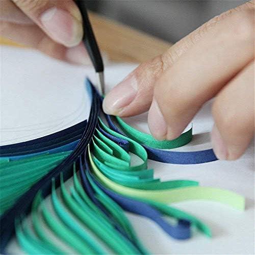 17 St/ück Woohome Papier Quilling Set mit 31 Farben 700 Streifen Quilling Papier und 10 Quilling Werkzeuge