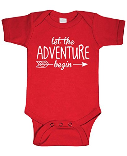 In Fantasy Adventures (LET The Adventure Begin - Fantasy Wizard - Cotton Infant Bodysuit, 12m, Red)