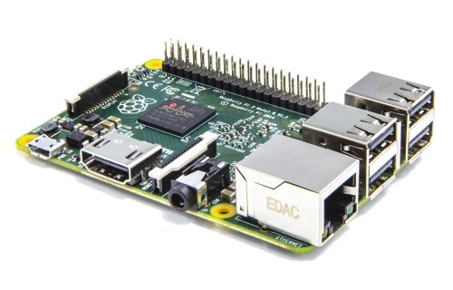 Raspberry Pi 2 Model B Desktop (Quad Core CPU 900 MHz, 1 GB.