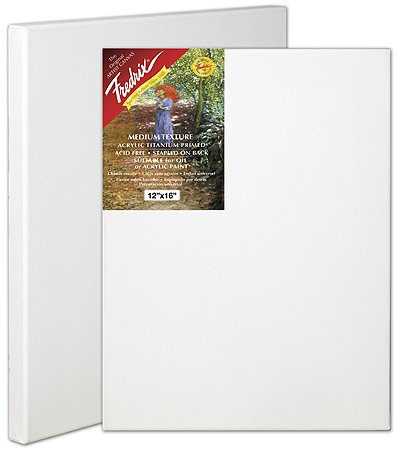 Fredrix 5020 Stretched Canvas, 14 by 18-Inch