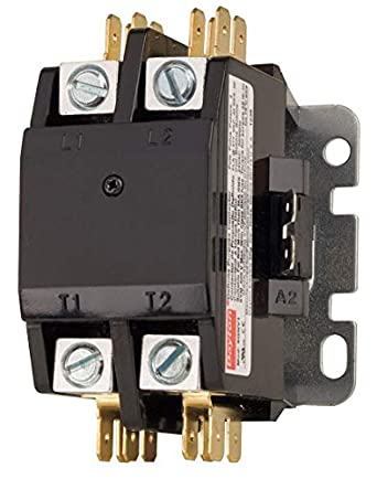 Swell Dayton 6Gnv1 Compact Contactor Dp 40A 2P 24Vac Motor Contactors Wiring Digital Resources Cettecompassionincorg