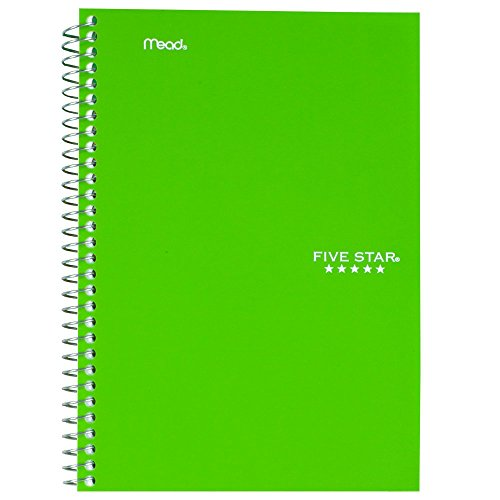 043100061809 - Five Star Wirebound Notebook, College Rule, 6 x 9-1/2, White, 100 Sheets/Pad (06180) carousel main 4