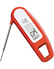 Lavatools PT12 Javelin Digital Instant Read Meat Thermometer for Kitchen, Food Cooking, Grill, BBQ, Smoker, Candy, Home Brewing, Coffee, and Oil Deep Frying