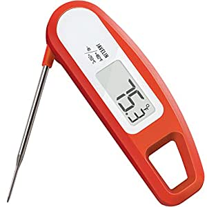 Lavatools Thermowand High-Performance Digital Food/BBQ Thermometer (Chipotle)
