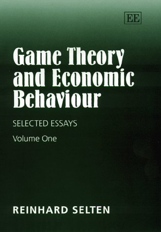 Game Theory and Economic Behaviour: Selected Essays. Two Volumes