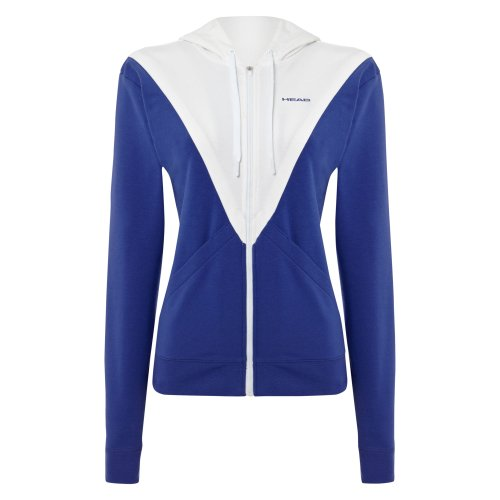 Blanco HEAD Talla S Blanco Azul Azul y Padel Flurry Chaqueta xwp17qIw