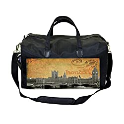 Vintage London - Big Ben Print DesignTherapist Bag