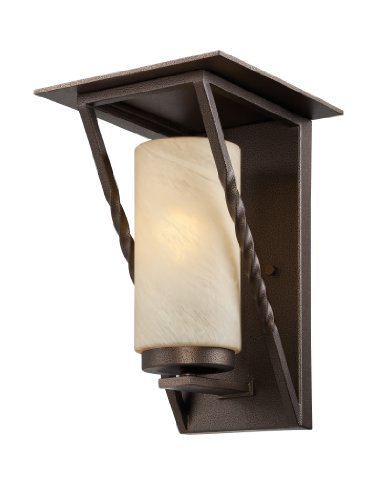 Designers Fountain ES31931-FBZ Parkview Wall Lanterns, Flemish Bronze by Designers Fountain