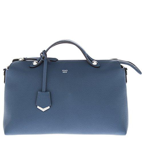 Fendi Women's Medium 'By The Way' Shoulder Bag Blue