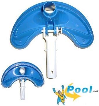 Piscina Media Luna forma ABS aspirador Piscina Pool suelo piscina Aspiradora Pool limpiador redondo para piscina ovalada Pool Ocho Forma Pool Acero Pared Pool: Amazon.es: Jardín