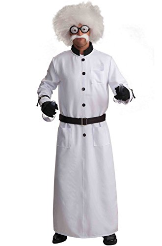 Scientist Crazy Costume (Forum Novelties Men's Mad Scientist Costume, White,)