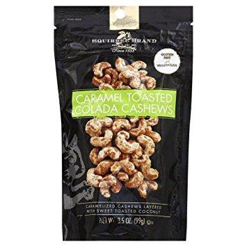 Squirrel Brand Nut Cashew Caramel Tstd C