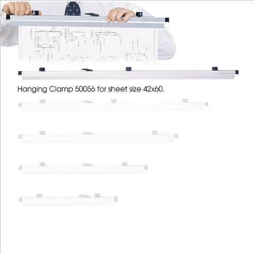 SAF50056 - Safco Mobile Blueprint Hanging Clamp (Safco Mobile Blueprint Hanging)