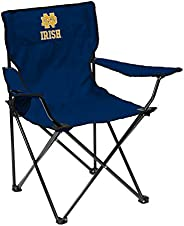 Logo Brands NCAA Unisex Adult Quad Chair with Single Cup Holder, Multcolor, One Size