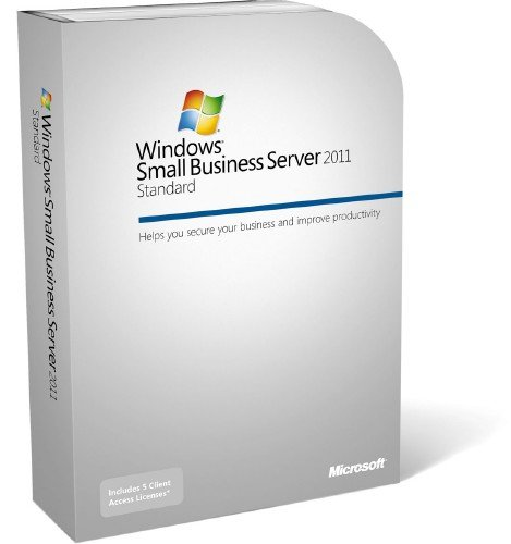Windows Small Business Server 2011 Standard [Old Version] by Microsoft