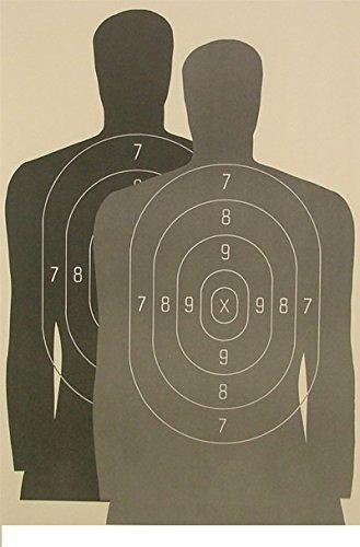"Law Enforcement Hostage Target 23""x35"" (25 Pack)"