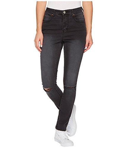 Billabong Women's Bestie Denim Pants,26,Black Pebble