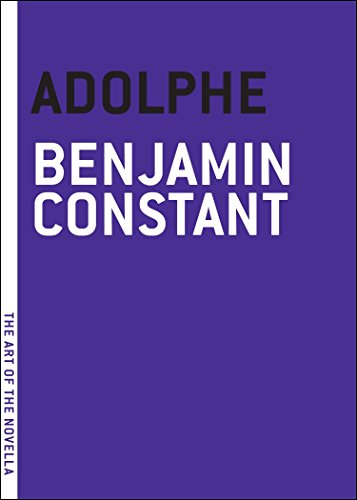 Adolphe (The Art of the Novella)