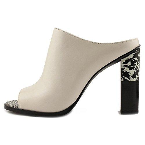 Calvin Klein Womens Kasidy Open Toe Muli Bianco Tenero