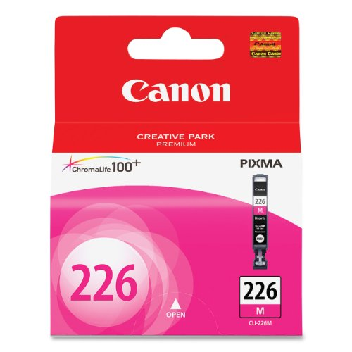 Canon CLI-226 Magenta Ink Tank Compatible to iP4820, MG5220, MG5120, MG8120, MG6120, MX882, iX6520, iP4920, MG5320, MG6220, MG8220, MX892 (Ink Canon Pixma Mx892)