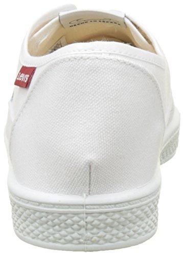 Bianco Sneaker Levi's Brillant Uomo White Malibu zS514q5nwt