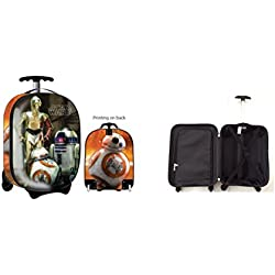 Star Wars Luggage Droids 16 Inch Hard Side, Multi, One Size