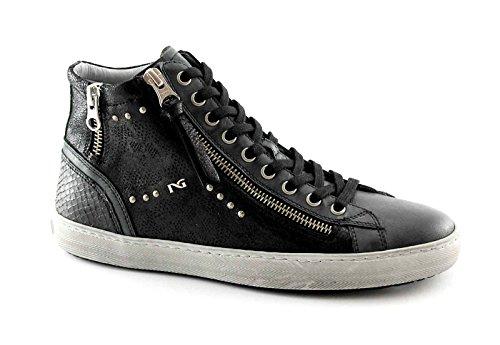 mediados BLACK la deporte zapatos Nero de JARDINES 16210 mujer lujo zapatilla de Negro postal de deportivos SwfSYr