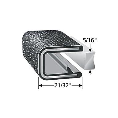 Trim-Lok Edge Trim /– Flexible, PVC Plastic Edge Protector for Sharp