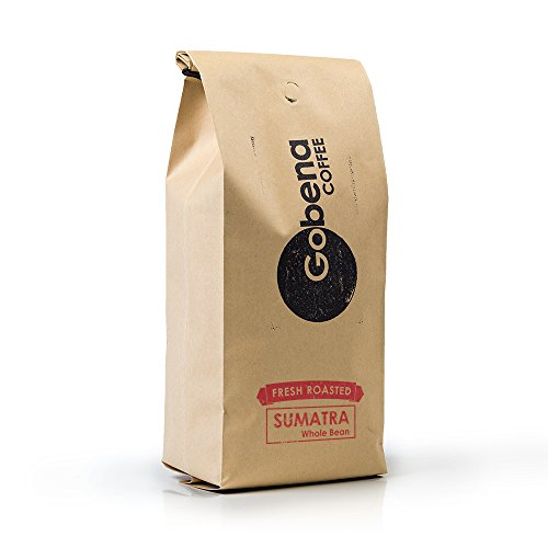 Sumatra Mandheling Grade 1 Whole Bean 2 lb. Fresh Roasted Specialty Coffee, Dark Roast