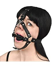Smerige neushaak op het hoofdharnas met siliconen kokhalsbal