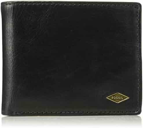 Fossil Men's RFID Flip ID Bifold Wallet,