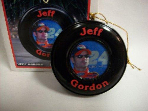 (Jeff Gordon #24 Nascar Tire Christmas Ornament)