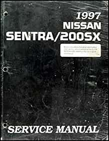 nissan sentra 1997 service manual basic instruction manual u2022 rh ryanshtuff co nissan sentra b14 1997 repair manual nissan sentra 1997 workshop manual